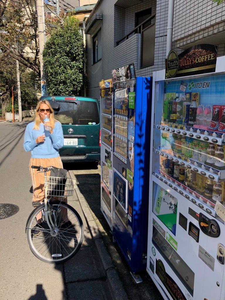 Fahrradfahren Tokyo
