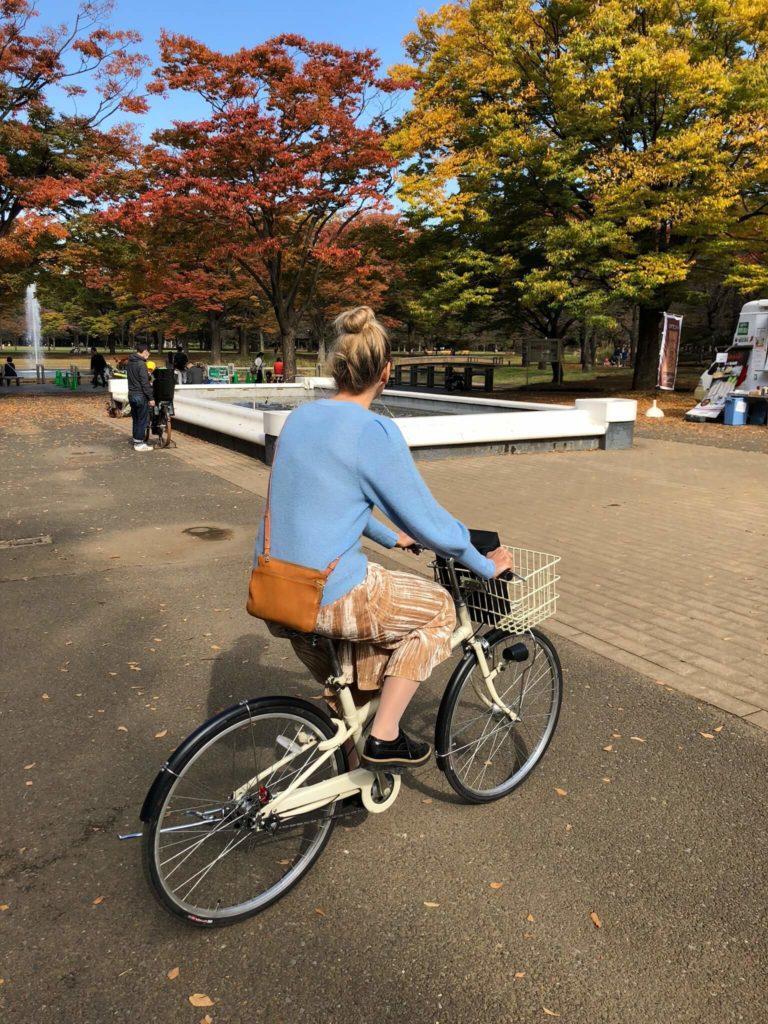 Fahrradfahren_Tokyo