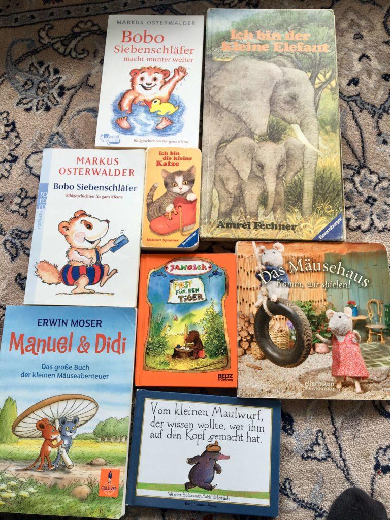 Lieblingsbücher für Kleinkinder
