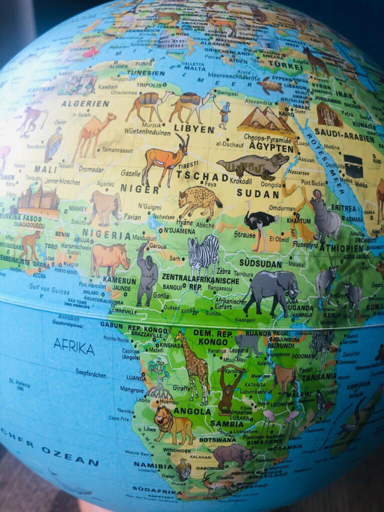 Afrika_Karte
